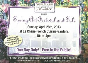 Spring Art Festival And Sale